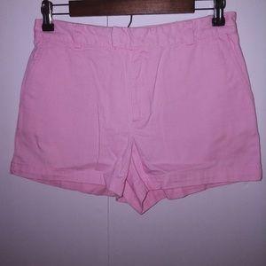 Ralph Lauren Pink High Rise Shorts